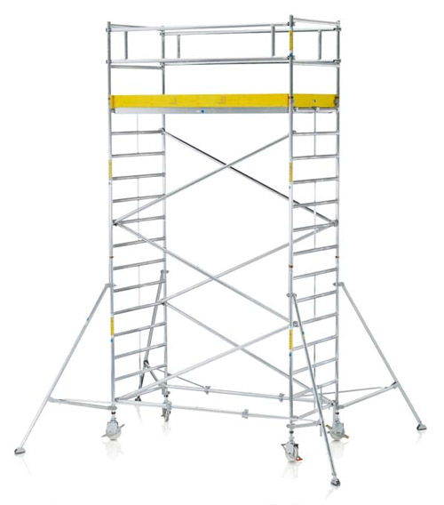 Aluminum Scaffolding Systems : New age construction equipment aluminum scaffolding system