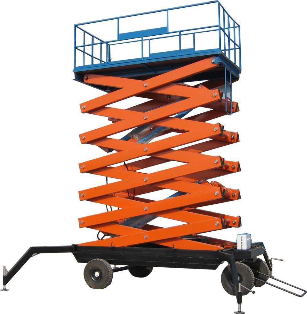 New Age Construction Equipment Mobile Scissor Lift